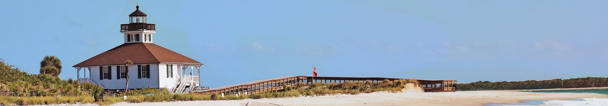 Historic lighthouse on Boca Grande is a great place to visit and minutes away from your new SW Florida home.